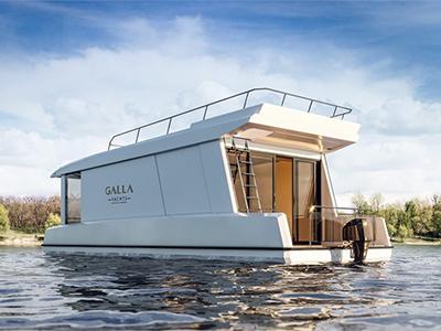 location bateau Gallaxy 10