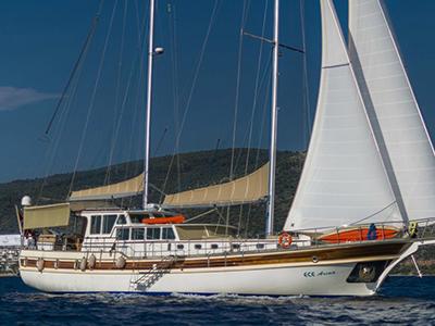 location bateau Arina