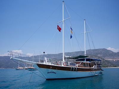location bateau Alaturka 1