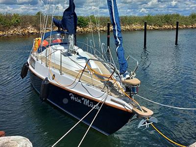 location bateau Amethyst 27