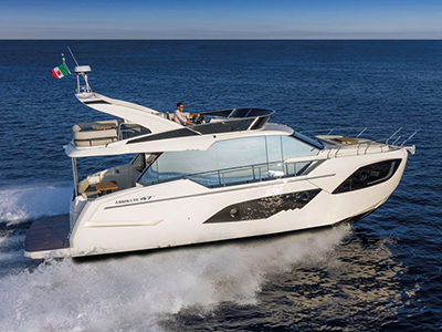 location bateau Absolute 47 Fly