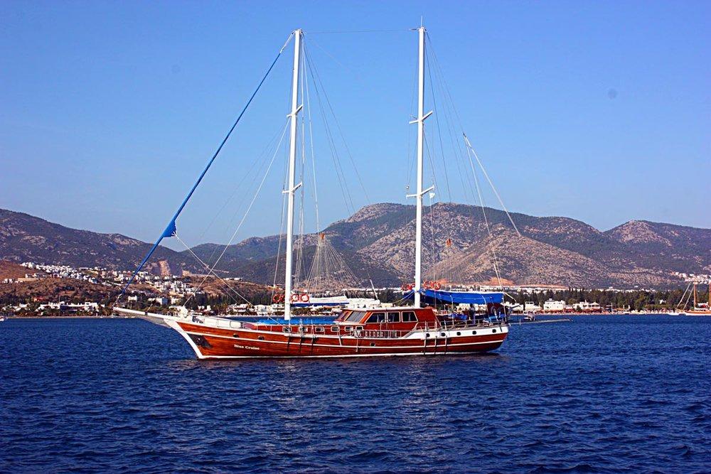 location bateau Blue Cruise