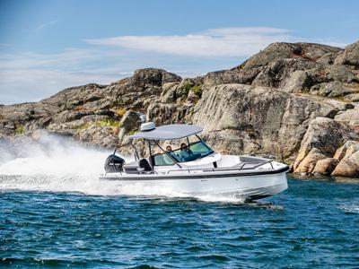 location bateau Axopar 28 T-Top