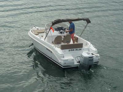 location bateau Cap Ferret 672
