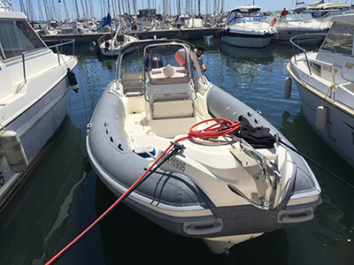 location bateau King 800 RS