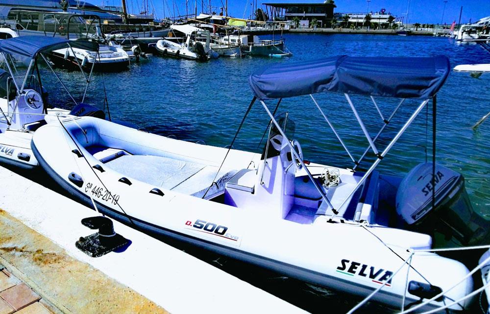 location bateau Selva D 500 Evolution Line