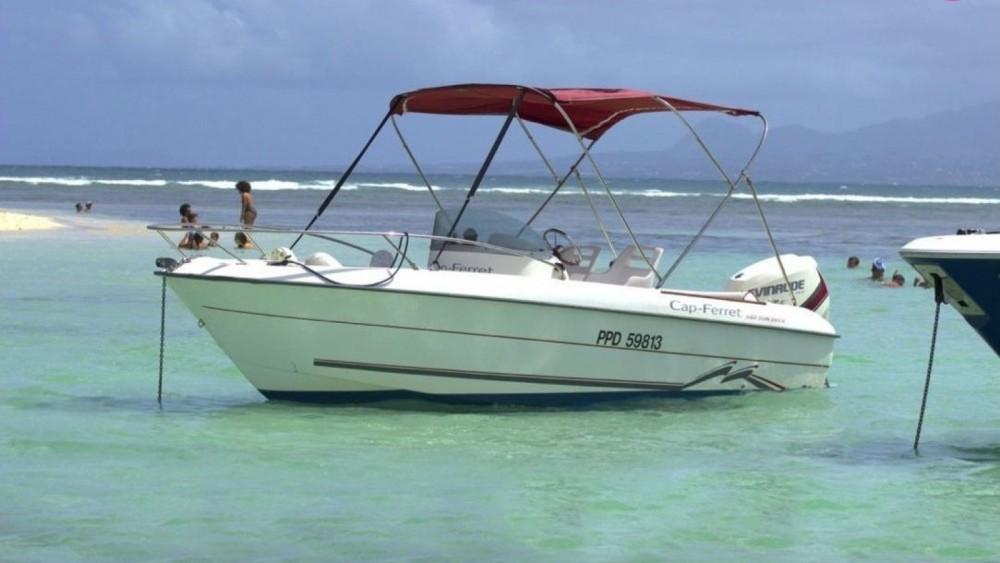 location bateau Cap Ferret 550 SUN DECK