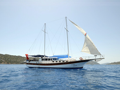 location bateau Lady Jane