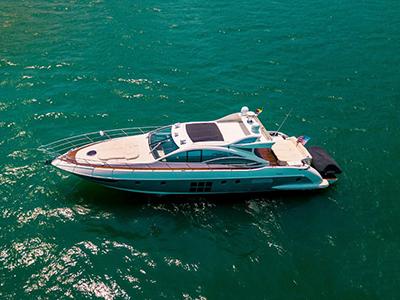 location bateau Azimut 62 S