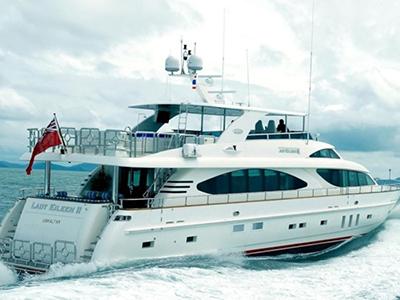 location bateau Lady Eileen II