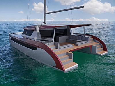 location bateau Luna 49