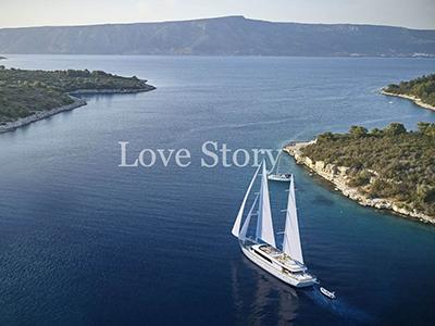 location bateau Love Story