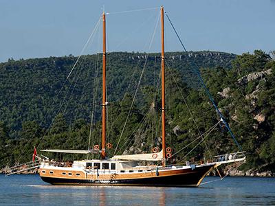 location bateau La Reine