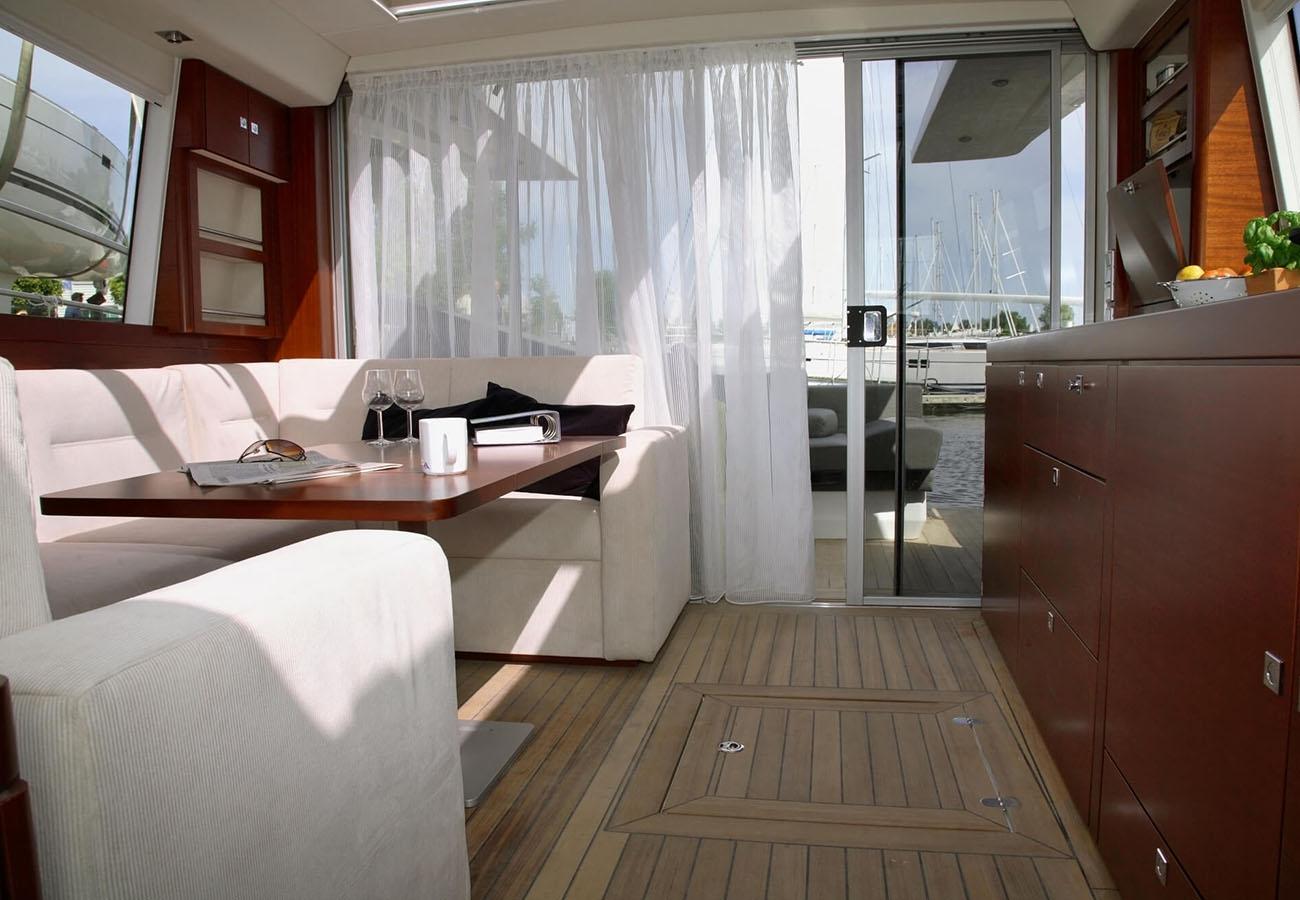 inside Fjord 40 Cruiser