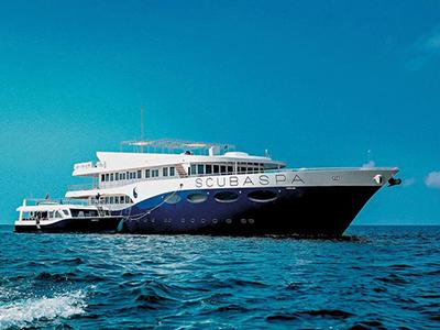 location bateau Scubaspa Ying