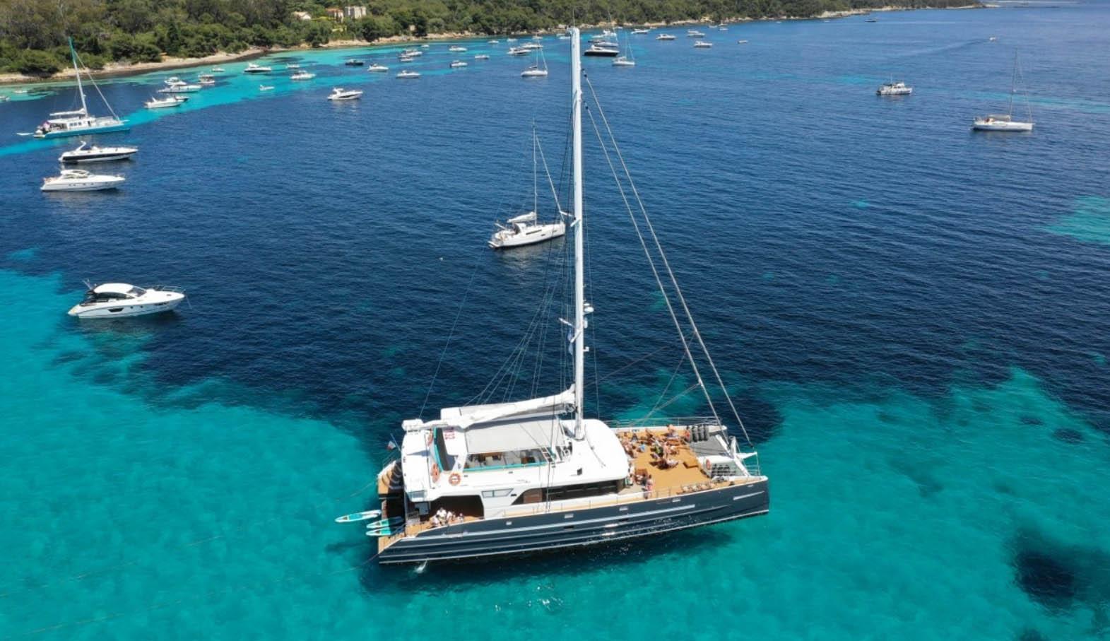 outside Maxi Catamaran 2