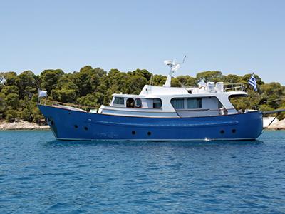 location bateau Kallista
