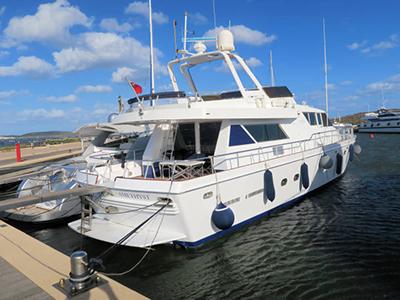 location bateau Leopard 21