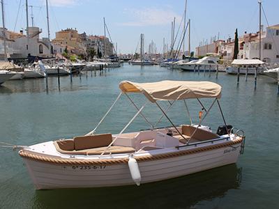 location bateau Silver 495