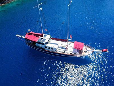 location bateau Pronto Blue