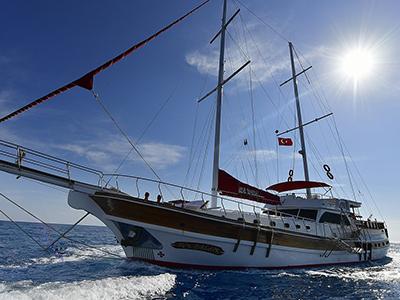 location bateau Blu Dream