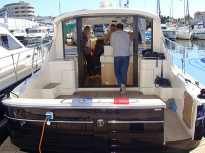location bateau Adriana 36
