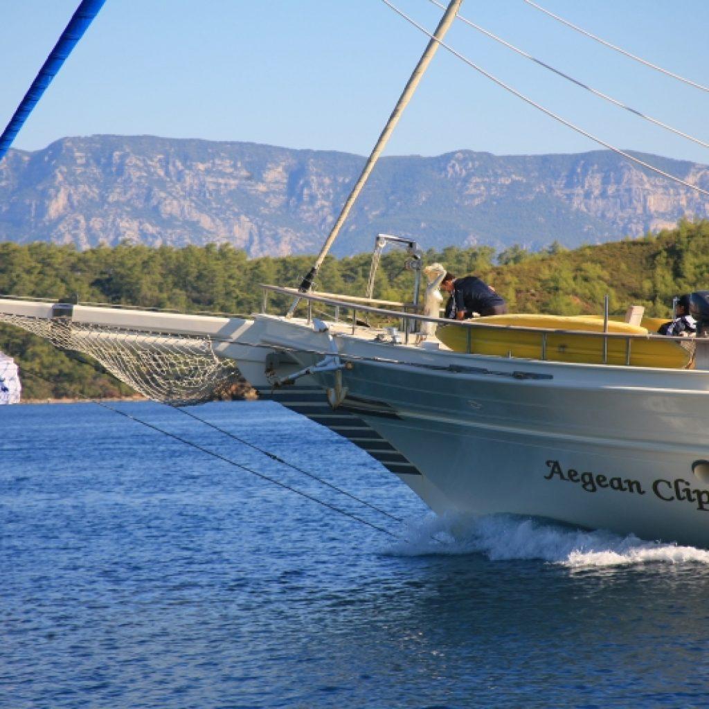 äußere Aegean Clipper