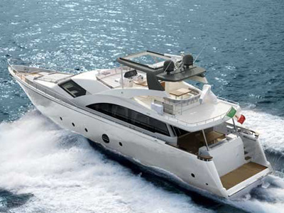 location bateau Aicon 75