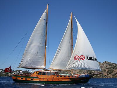 location bateau Almira