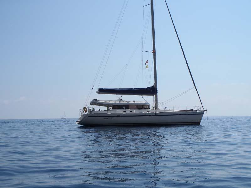 location bateau Atoll 6