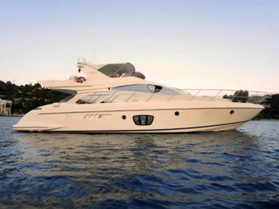 location bateau Azimut 55