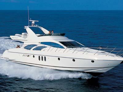 location bateau Azimut 62