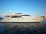 location bateau Azimut 85