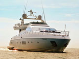 location bateau Azimut 98