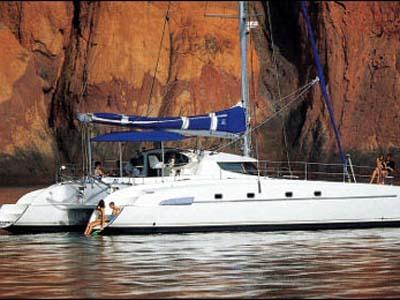 location bateau Bahia 46