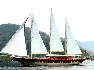 location bateau Baron II