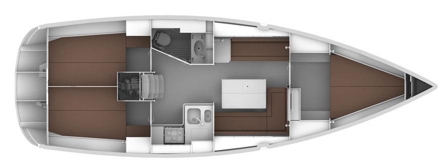 interno Bavaria 36 Cruiser