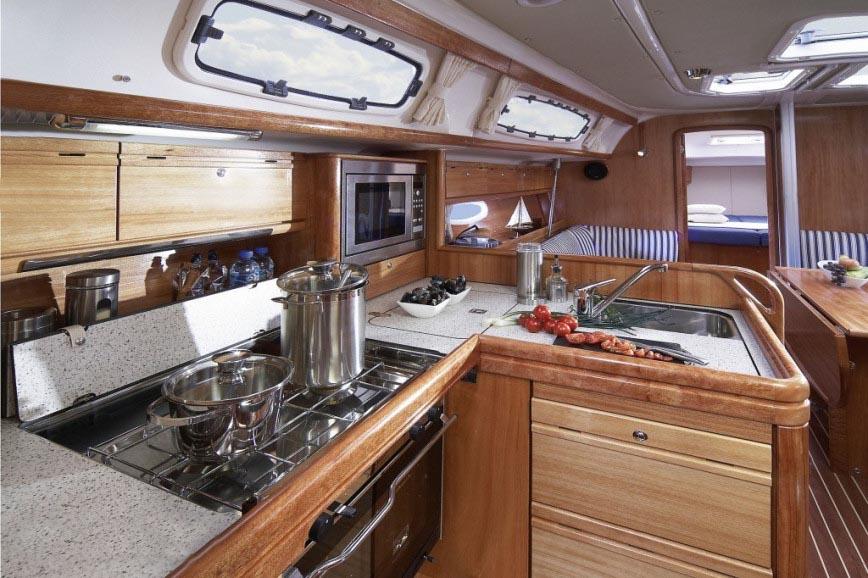 intérieur Bavaria 38 Cruiser