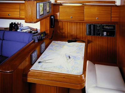 inside Bavaria 44 Cruiser