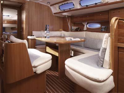 intérieur Bavaria 46 Cruiser