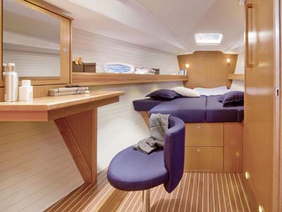 interno Bavaria 47 Cruiser