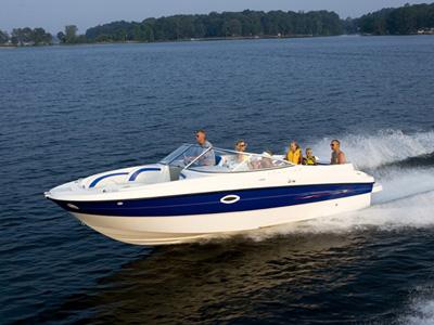 Location bateau  Bayliner 249 Deck