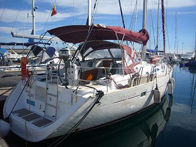 location bateau Beneteau 423