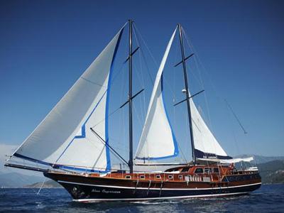 location bateau Blue Capricorn