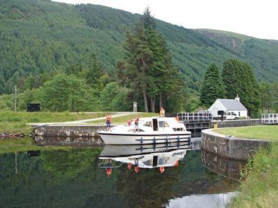 location bateau Braemore