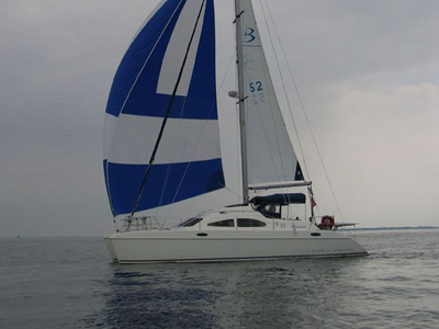 Location bateau  Broadblue 38