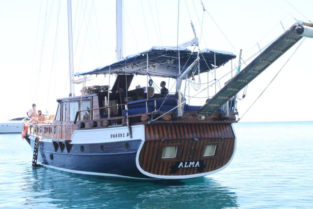 location bateau Alma I