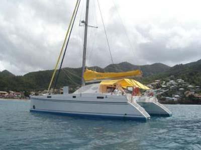 location bateau Catana 411