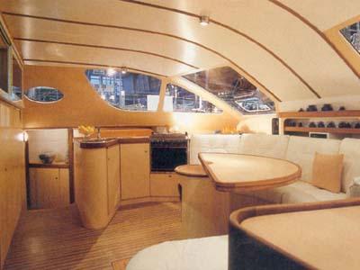 intérieur Catana 411