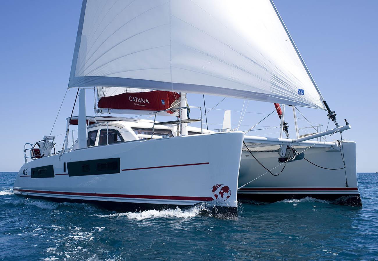 location bateau Catana 42